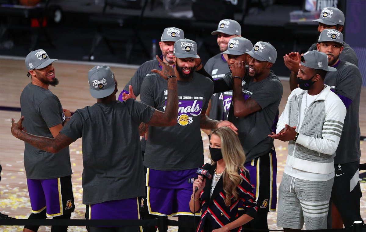 Lakers' President Jeanie Buss Has Special Words of Appreciation for Magic  Johnson After Team Reaches Finals - EssentiallySports