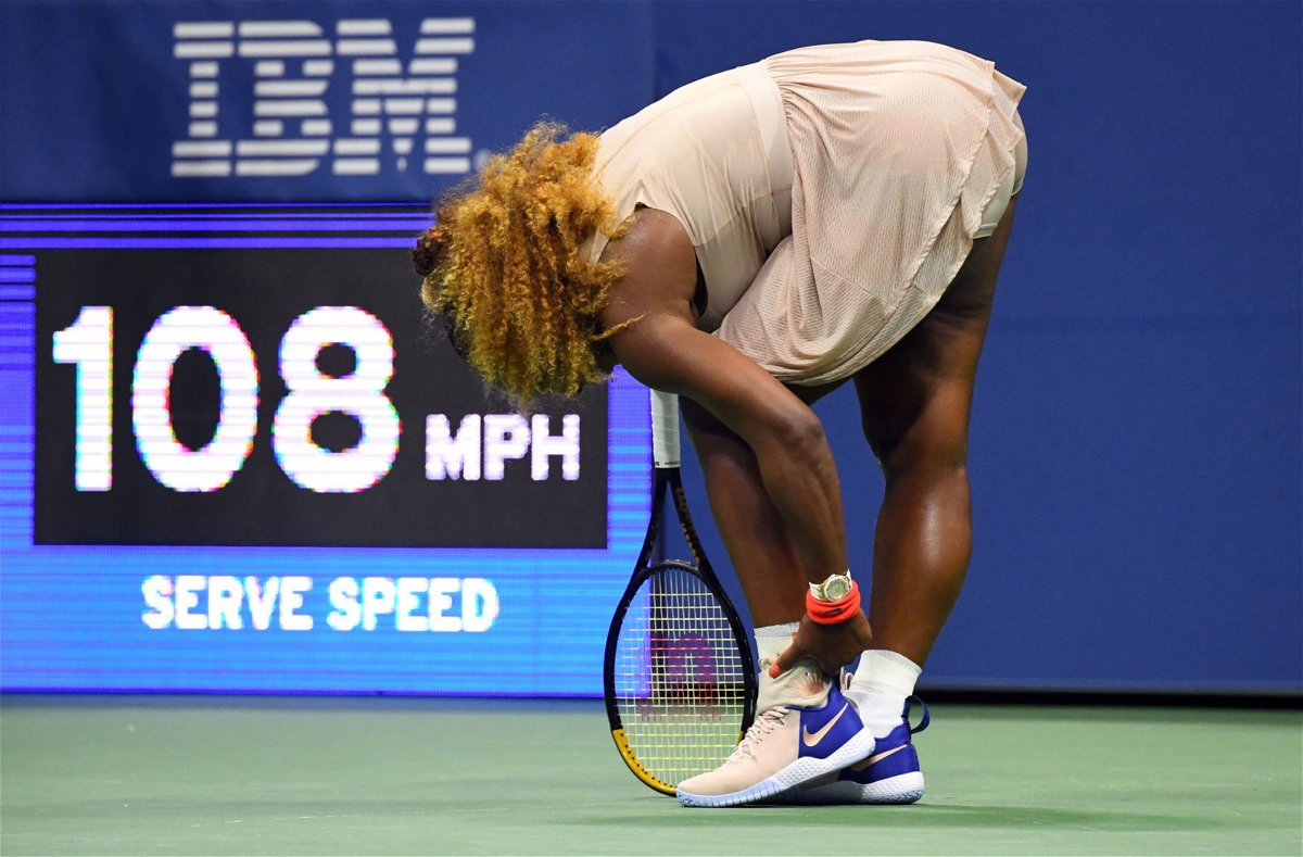 Serena Williams at US Open 2020