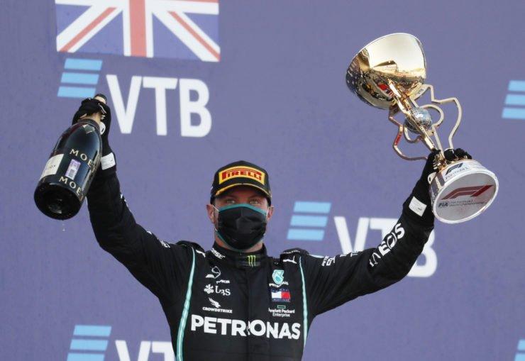 Valtteri Bottas wins the Russian Grand Prix