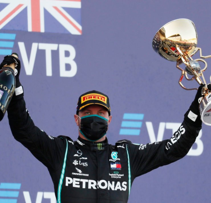 Valtteri Bottas wins the Russian Grand Prix