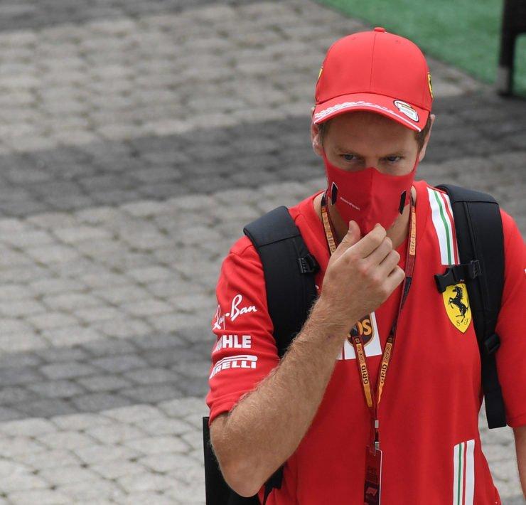 Sebastian Vettel At The Sochi Autodrom