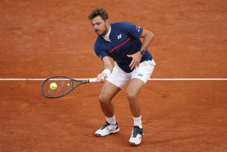 Stan Wawrinka at French Open 2020