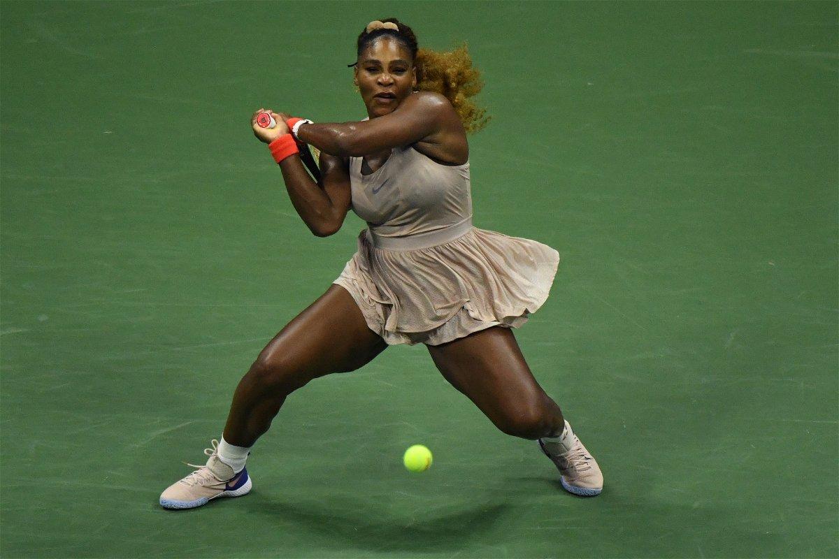 Serena Williams in US Open 2020