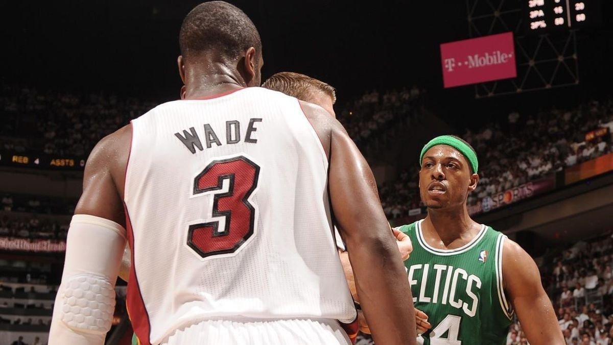 皮爾斯認為自己比韋德強!遭到主持人強勢打臉:人家三冠,八次最佳陣容!-黑特籃球-NBA新聞影音圖片分享社區
