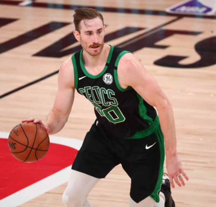 Charlotte Hornets new Forward Gordon Hayward