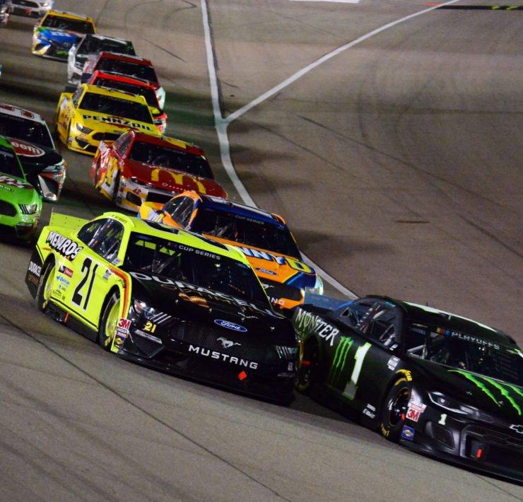 Matt DiBenedetto in action in NASCAR Cup Series