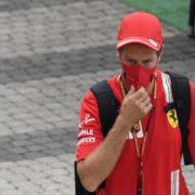 Sebastian Vettel on Sunday at Sochi Autodrom