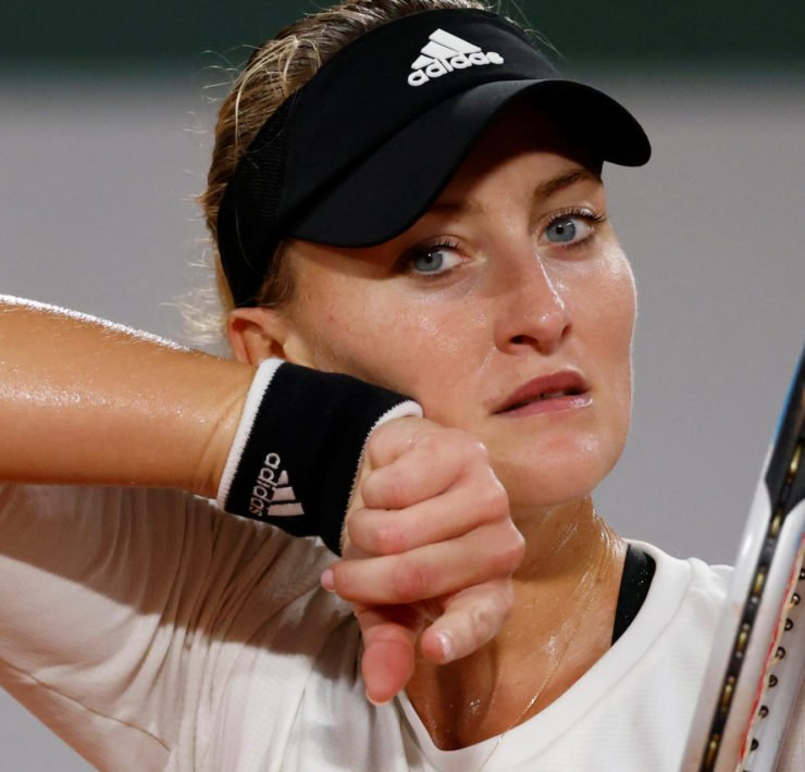 Kristina Mladenovic at the French Open 2020
