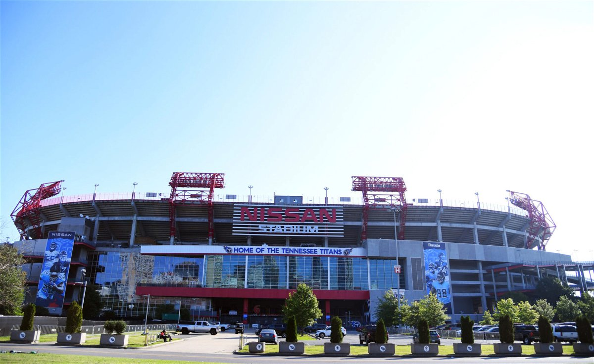 View of Nissan Stadium before the Tennessee Titans game against the Jacksonville Jaguars in Week Two.