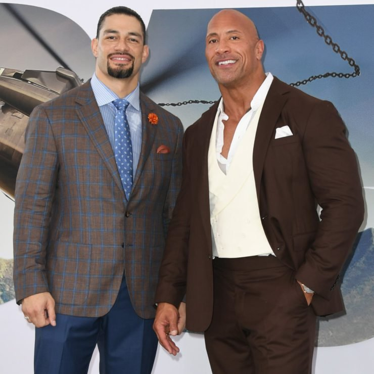 WWE- Roman Reigns-Dwayne johnson