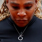 Serena Williams at the French Open 2020