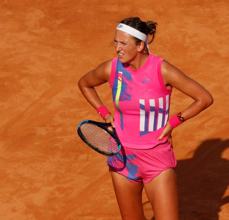 Victoria Azarenka at the 2020 Italian Open