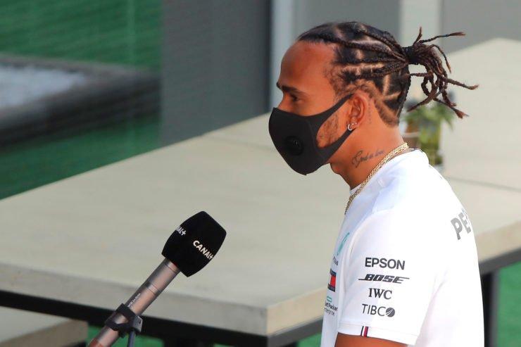 Lewis Hamilton at Sochi Autodrom