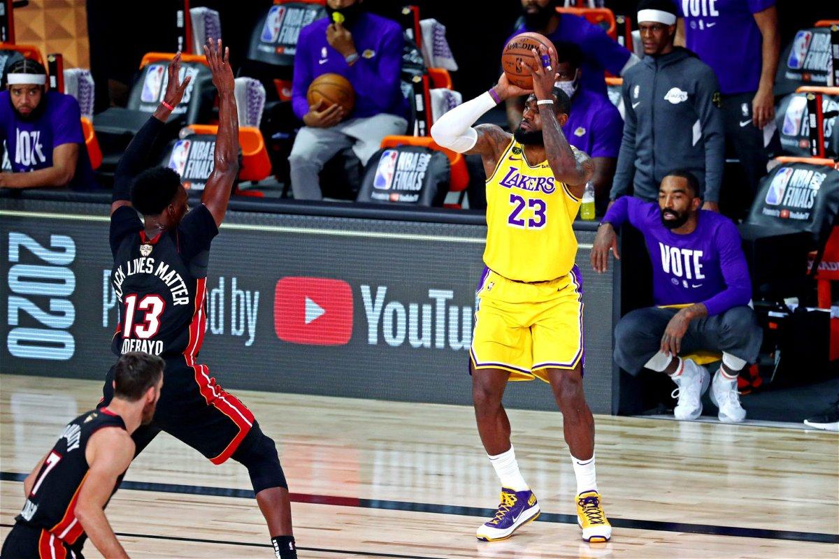Lebron James Surpasses Michael Jordan In A Crazy Nba Finals Record In Orlando Essentiallysports