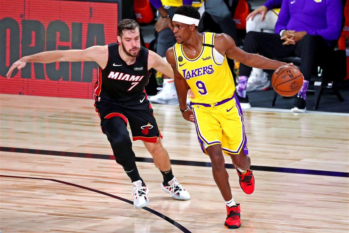Lakers' Rajon Rondo Surpasses NBA Legend Larry Bird to Reach Another Milestone - EssentiallySports