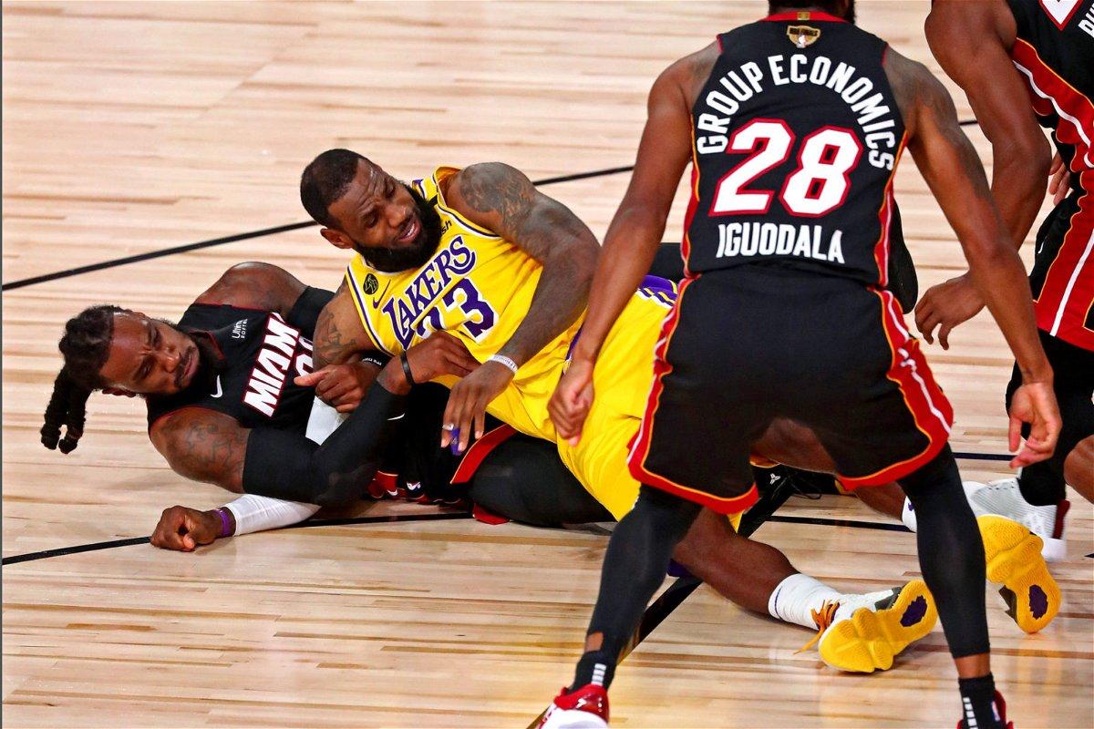 Shaquille O'Neal y Dwyane Wade llevan las Finales de la NBA a una nueva altura con una apuesta loca