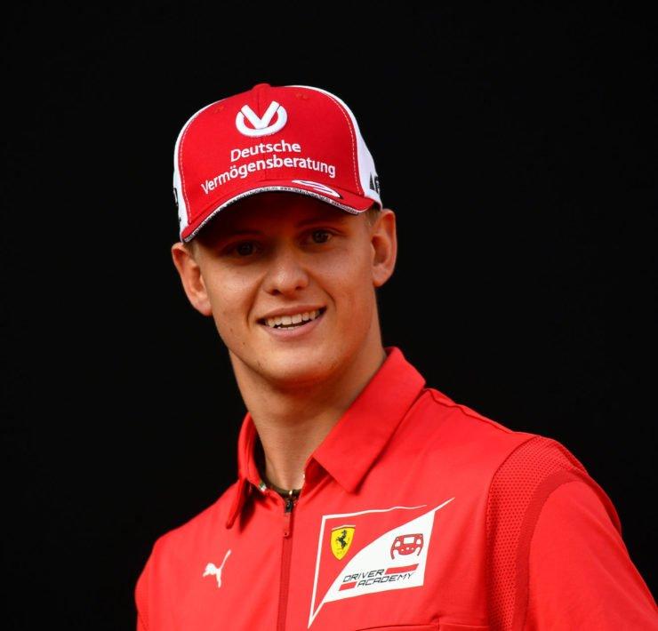 Mick Schumacher At A Ferrari Event
