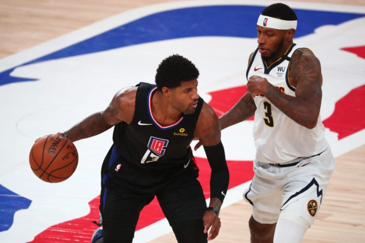 Clippers Paul George vs Denver Nuggets