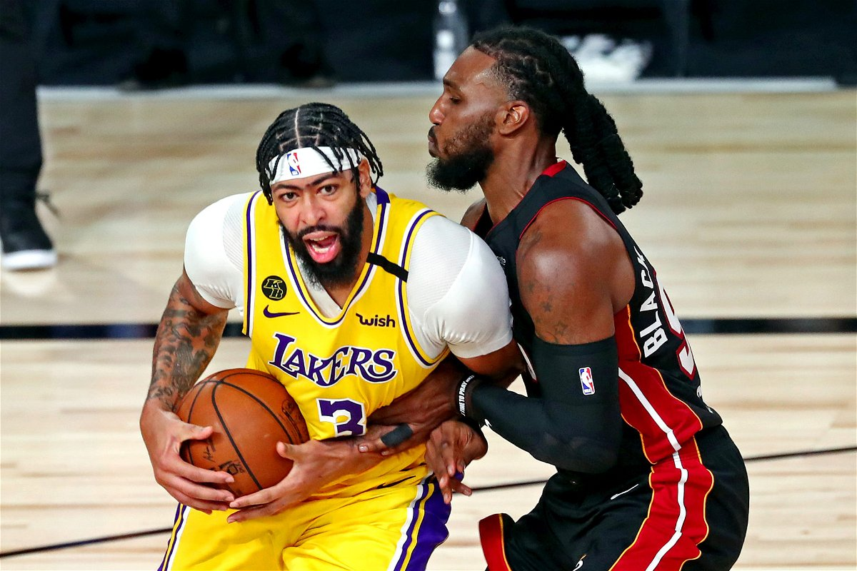 Miami Heat Forward Reveals His Plan To Tackle Lakers Anthony Davis In Game 4 Essentiallysports
