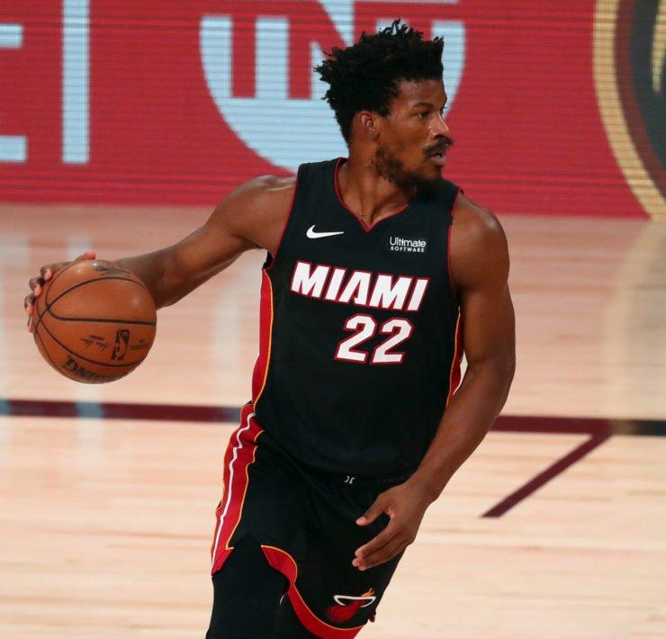 Miami Heat's Jimmy Butler during NBA Playoffs 2020