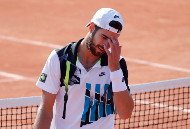 Karen Khachanov at French Open