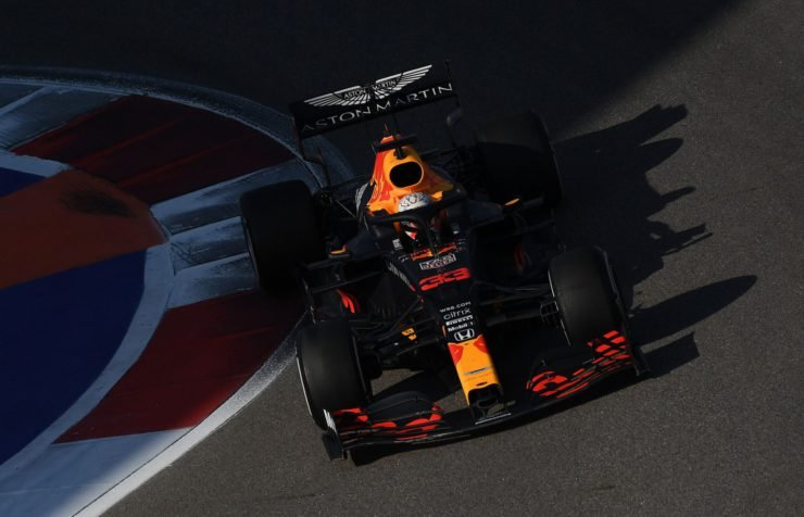 Max Verstappen During The Russian GP