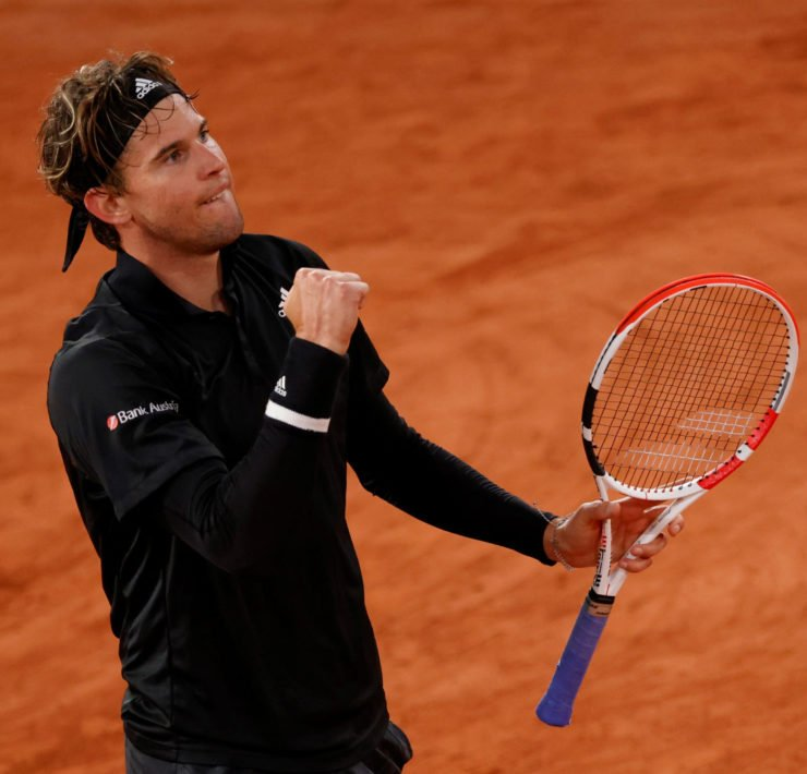 Dominic Thiem at French Open 2020