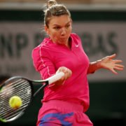 Simona Halep at the French Open 2020