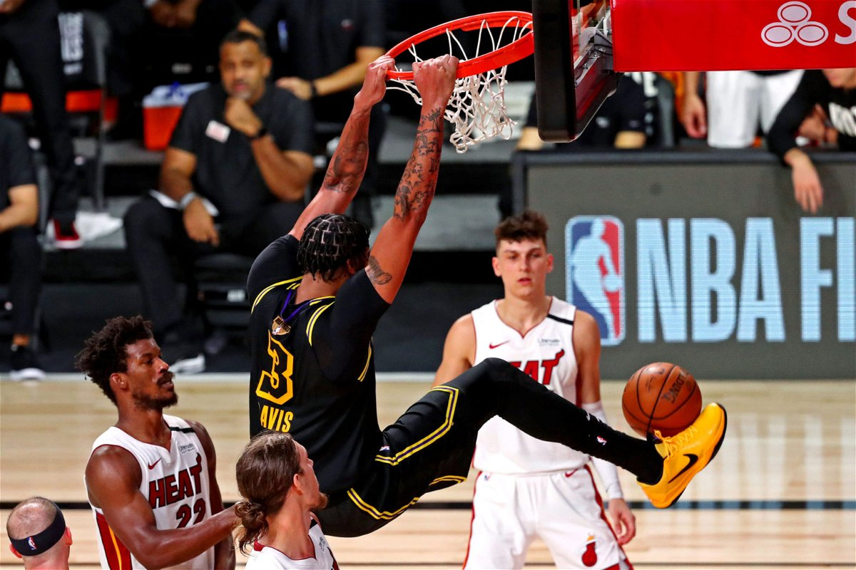 Anthony Davis Joins Kareem Abdul Jabbar And Shaq In Lakers History Books With Monstrous Game 2 Performance Essentiallysports