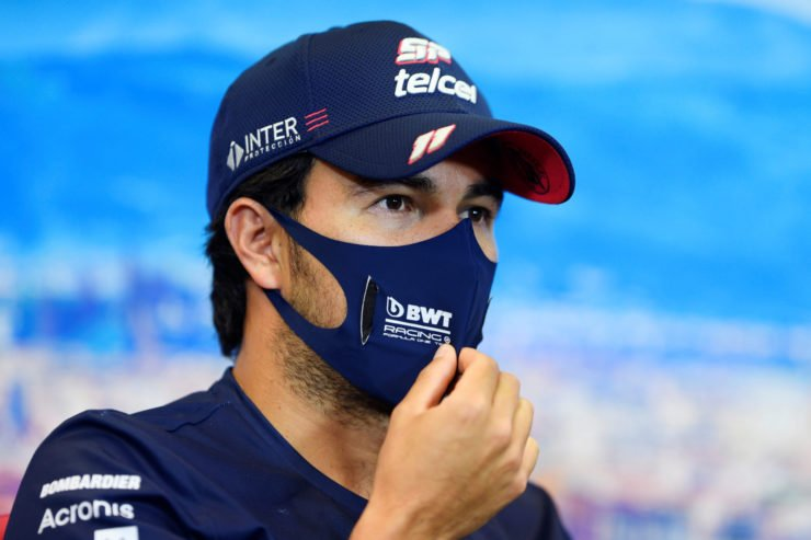 Sergio Perez and Hamilton are the only drivers to score in every race