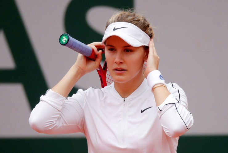 Eugenie Bouchard at French Open 2020