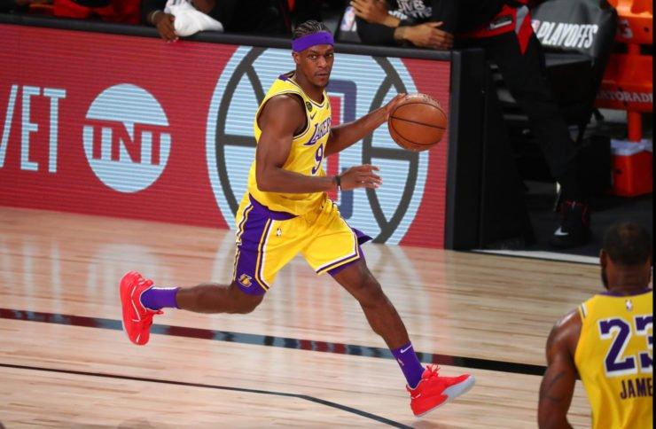 朗多在2020年NBA季后赛