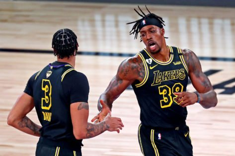 """Lakers' Dwight Howard Claims He & Anthony Davis """"Squashed"""" Their Issues After Altercation"""