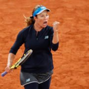 Danielle Collins at French Open 2020