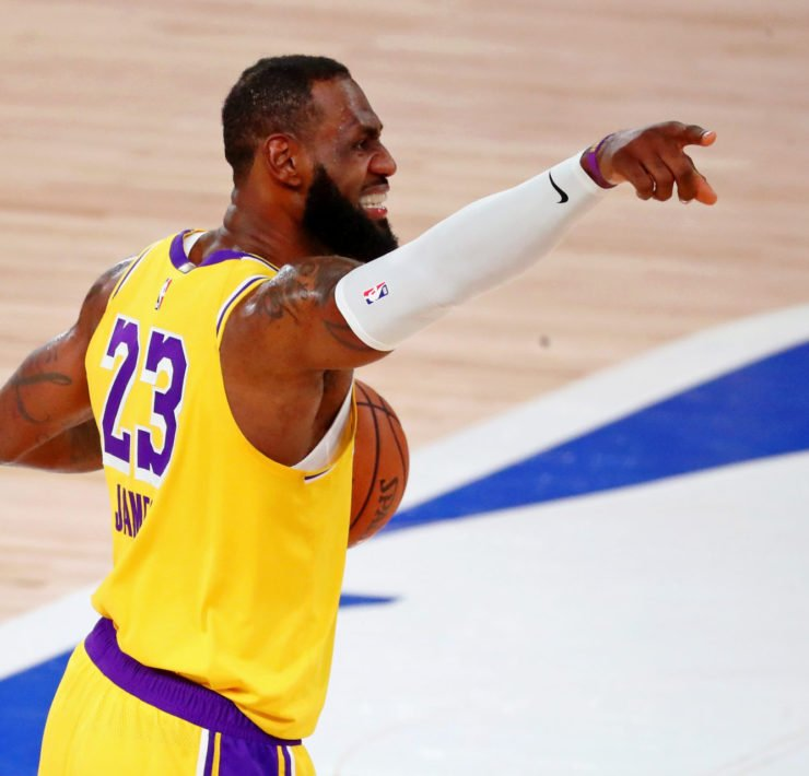 Lakers' star LeBron James