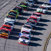 Chase Briscoe in action in NASCAR Xfinity Series