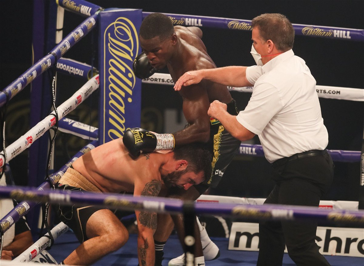 KNOCKOUT: Joshua Buatsi Stops Marko Calic in the Seventh, Retains WBA Title - EssentiallySports