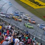 Massive Crash Involving Kyle Busch, Joey Logano, Kevin Harvick and more at the YellaWood 500, Talladega Superspeedway in NASCAR Cup Series