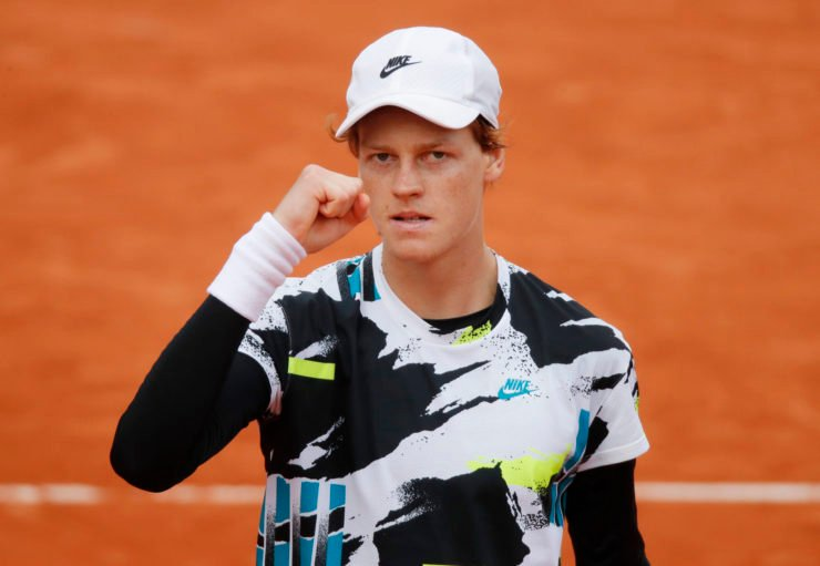 Jannik Sinner at French Open 2020