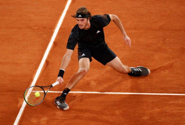 Stefanos Tsitsipas at French Open 2020