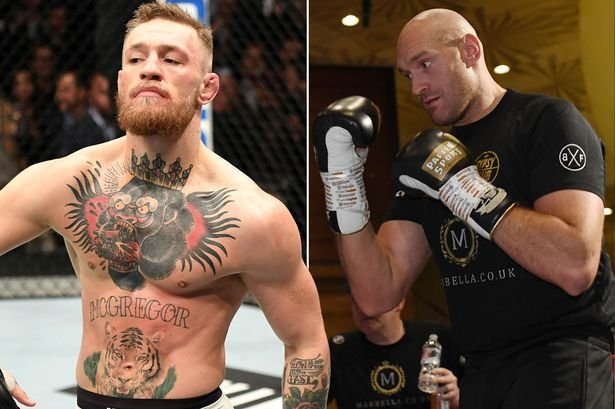 "Tyson Fury was Hitting Conor McGregor"" - Former Boxing Champion Shares a  Bizarre Experience - EssentiallySports"