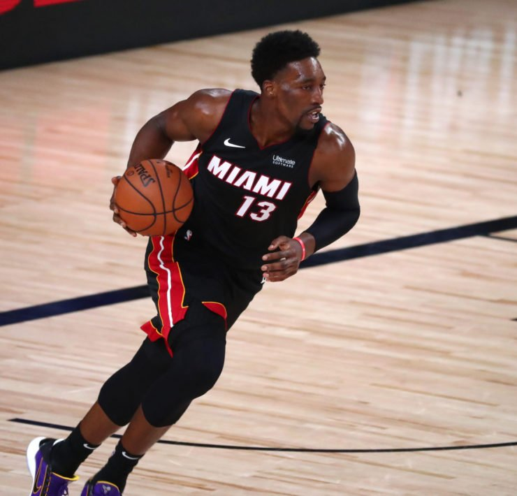 Miami Heat star center Bam Adebayo