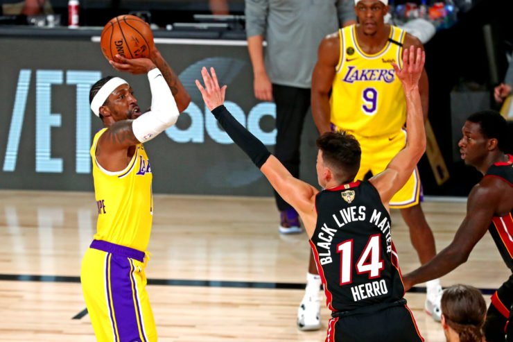 Los Angeles Lakers vs Miami Heat: Kentavious Caldwell-Pope