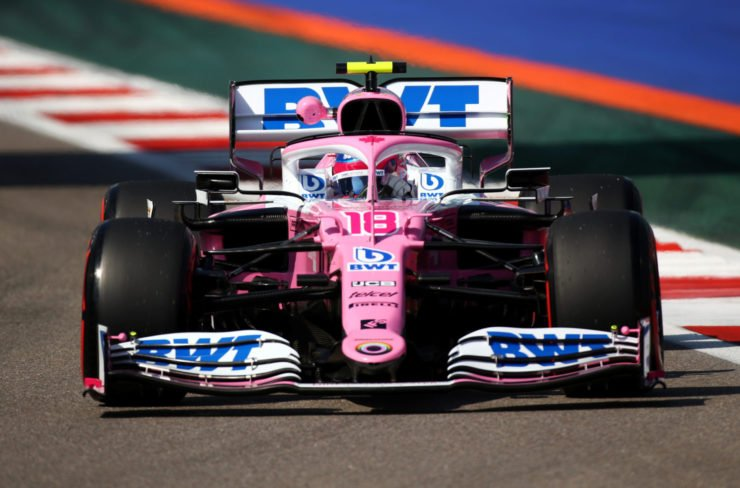 Lance Stroll During Russian GP Practice