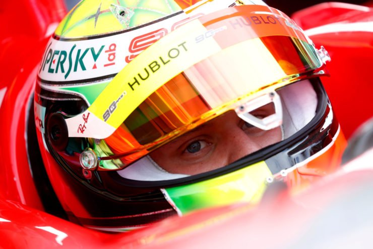 Mick Schumacher at the German Grand Prix 2020