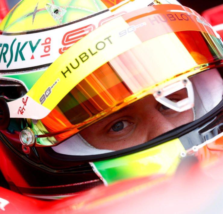 Mick Schumacher at the German Grand Prix 2020