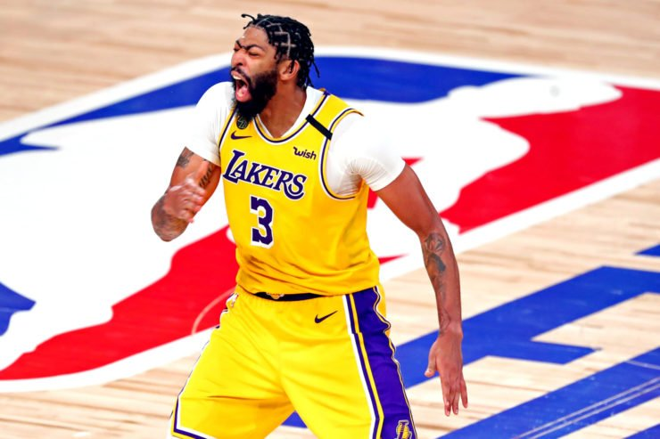 Lakers' Anthony Davis vs Miami Heat in 2020 NBA Finals