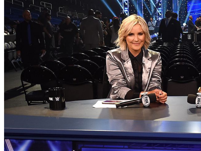 Watch As Renee Young Gets Kicked In The Face During WWE