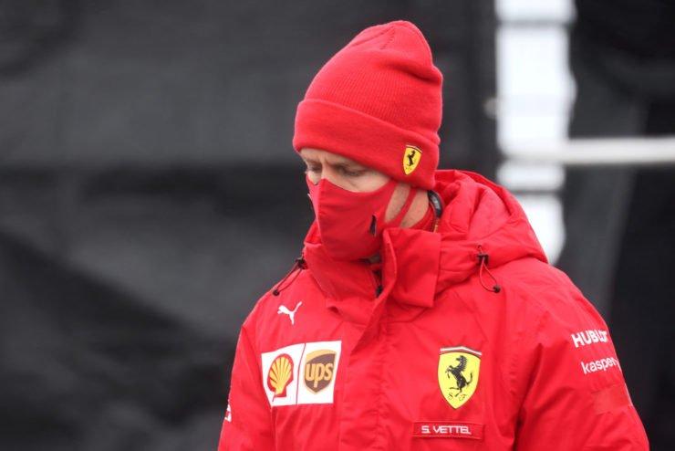Sebastian Vettel At The Nurburgring Circuit