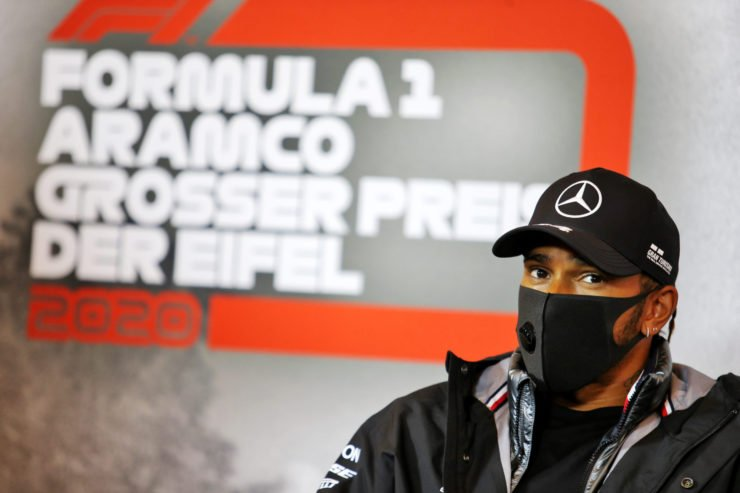 Lewis Hamilton disagrees to deforestation in Brazil